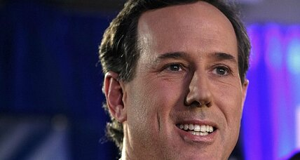 Rick Santorum: Will Iowa 'rocket boost' propel him in New Hampshire?
