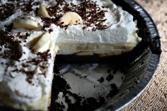 23 heavenly pies - Black bottom banana cream pie - CSMonitor.com