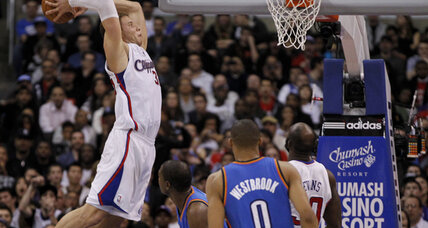 Blake Griffin dunk highlights Clippers win over Thunder (+video)