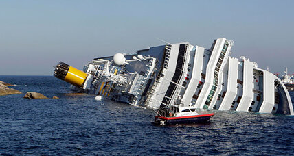Cruise ship aground: Search for missing off coast of Italy
