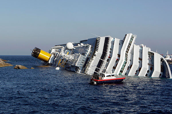 Cruise Ship Aground Search For Missing Off Coast Of Italy - Italy cruises