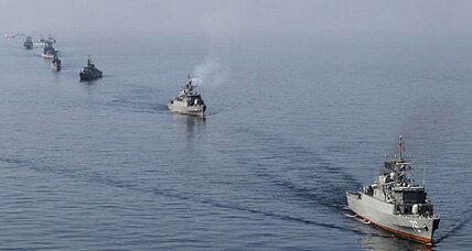 As sanctions bite, Iran threatens US aircraft carrier