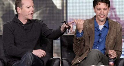 'Touch' star Kiefer Sutherland on acting with his young costar, David Mazouz