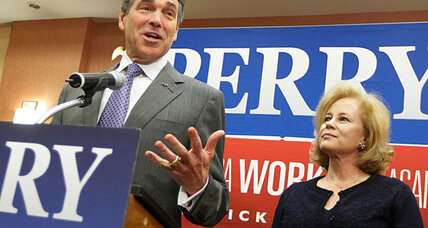 Why is Rick Perry backing Newt Gingrich now?