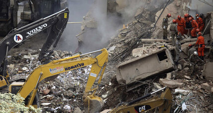 Rio building collapse: Will Brazil be ready for the Olympics? (+video)