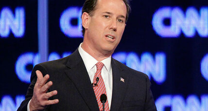 Rick Santorum delivers serious smackdown on 'Romneycare'