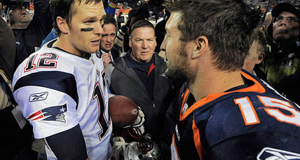 Can Tom Brady overcome playoff missteps to beat Tim Tebow?