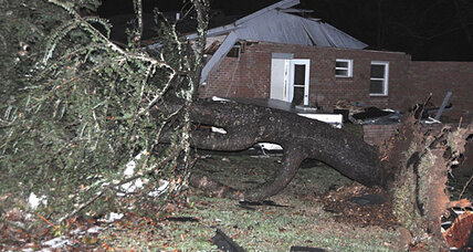 Was North Carolina hit by rare winter tornado?