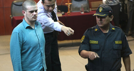 Van der Sloot apologizes in court for murder of Peruvian woman
