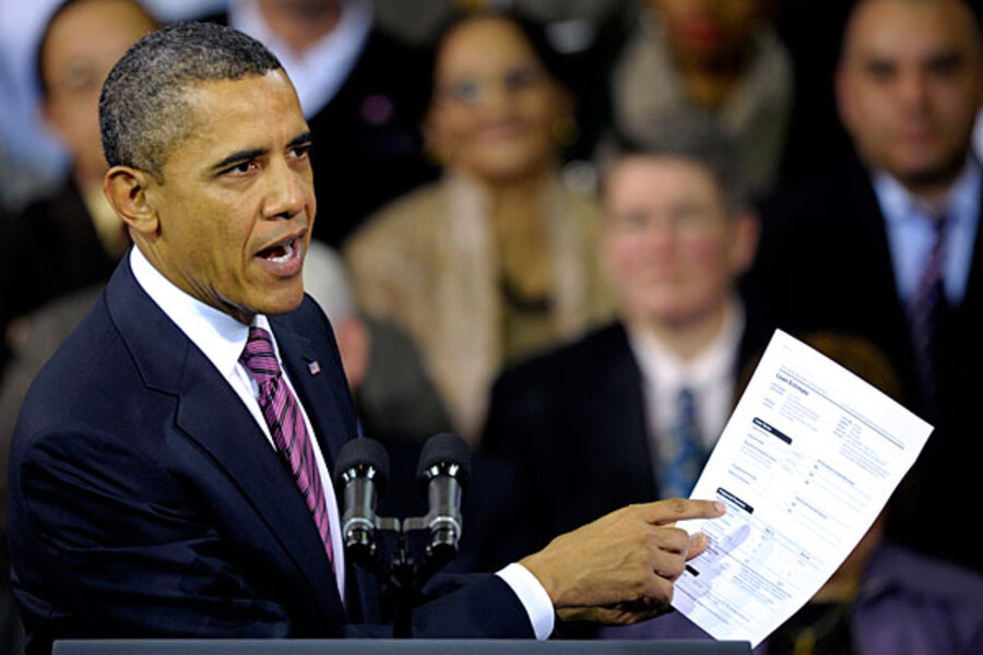 Obama plan to lower mortgage payments could help  but how much    Obama plan to lower mortgage payments could help  but how much    CSMonitor com