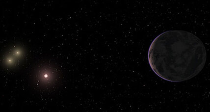 Planet found at perfect spot for life - in solar system with three suns
