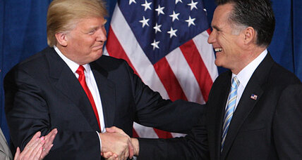 Did Donald Trump endorse Mitt Romney because of China?