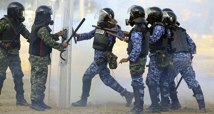 Trouble in paradise: Maldives president steps down amid protests (+video)