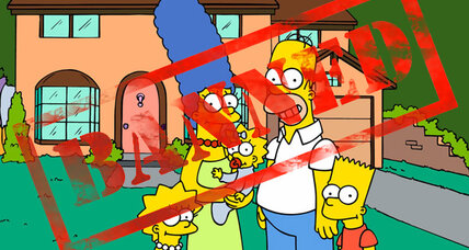 Sanctioned and isolated, Iran boldly bans the Simpsons