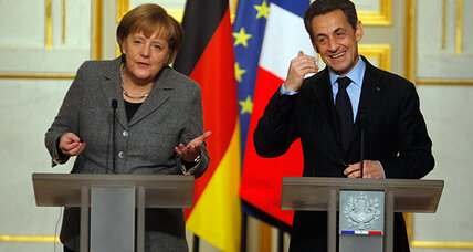 The Merkel-Sarkozy 'odd couple' becomes a campaign duo