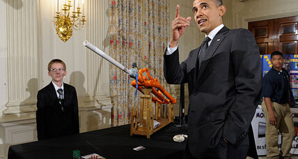 President Obama hosts White House Science Fair. Did anybody win?