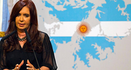 Argentina says it will take Falklands question to the UN