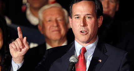 Rick Santorum rising, along with the culture war. Coincidence?