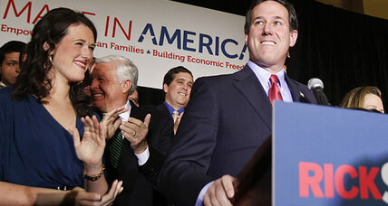 Rick Santorum triumphant as election takes another unpredictable swing