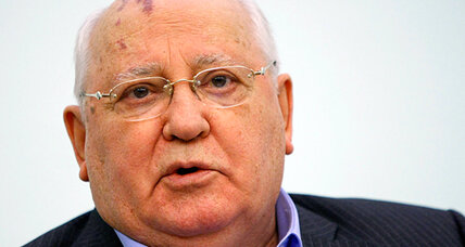 Gorbachev talks! (And Putin won't like what he's saying.)