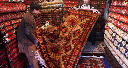 A carpet economy unravels in Afghanistan