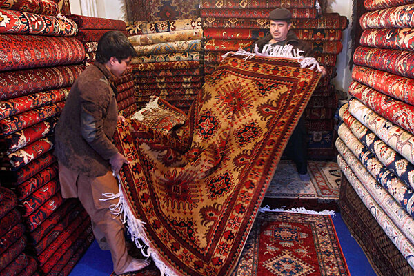A Carpet Economy Unravels In Afghanistan Csmonitor Com