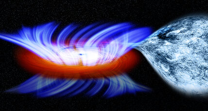 NASA clocks 20 million mph winds near black hole