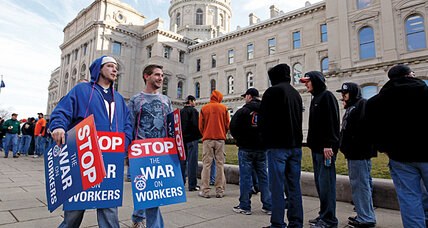 Indiana 'right to work' law: what it means for the pro-union Rust Belt