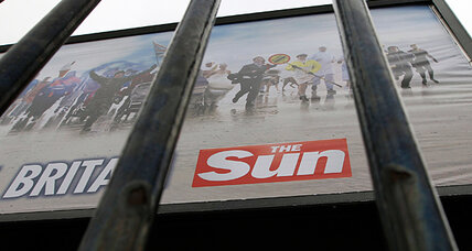 The chutzpah of Rupert Murdoch's Sun