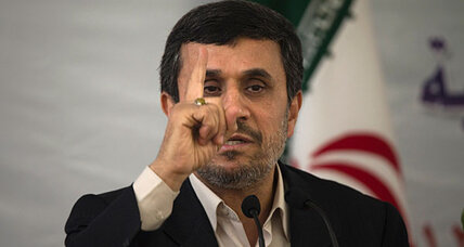Why Ahmadinejad is eager to show off new Iran nuclear facilities