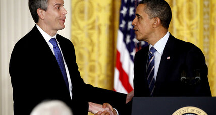 The next Race to the Top? Arne Duncan outlines vision for teacher reform.