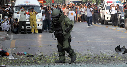 Thai officials say Tuesday's Bangkok blasts were meant for Israeli diplomats