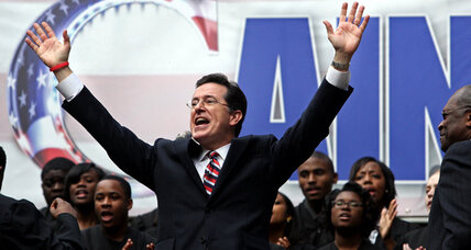 'Colbert Report' off air; network offers no explanation