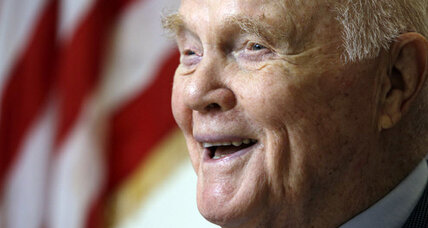 John Glenn reflects on NASA's space legacy 50 years after first orbit