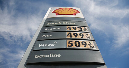 High gas prices: How big a problem for Obama?