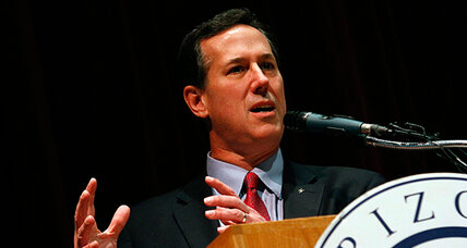 Is Rick Santorum the new Teflon candidate to whom nothing sticks?
