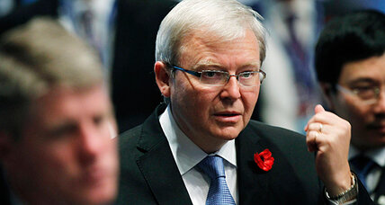 Australia Foreign Minister Kevin Rudd resigns in leadership rift