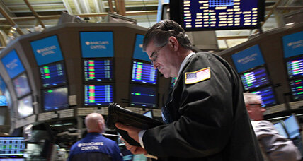 Stocks close lower after flirting with 13000