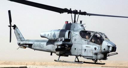 Helicopter mid-air crash kills 7 Marines in Calif. desert