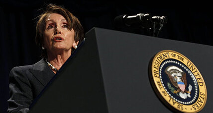 Stephen Colbert hosts Nancy Pelosi. Is he a Democrat?