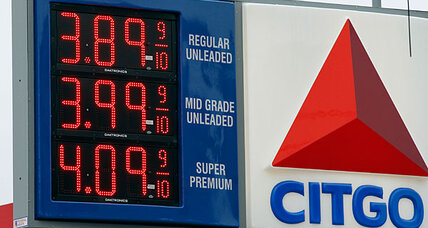 Oil nears $110 a barrel, gas prices jump 12 cents a gallon in a week. Eek!