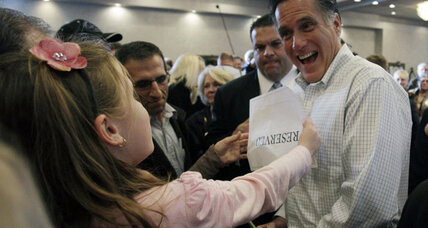 Mitt admits there are few Mitts at The Mitt in Mich.