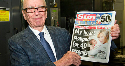 Murdoch celebrates 'amazing' success of new tabloid as inquiry delivers new blow