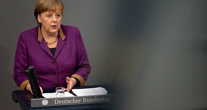 Dissension over Greek bailout weakens Merkel