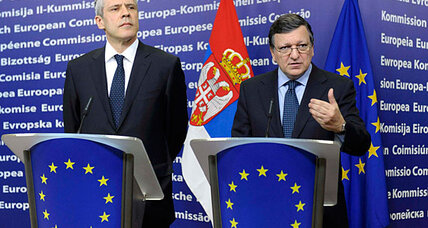 For Serbia, membership in troubled EU still a prize