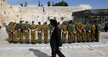 Israel's ultra-Orthodox could lose exemption from army service