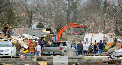 Storm, tornadoes damage Missouri, Illinois, Kansas; kill 9