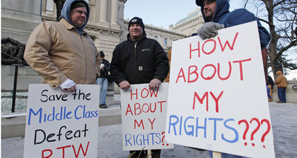 'Right to work' push has unions stewing and a fight brewing