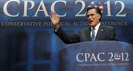 CPAC: After a tough week, Romney wins conservative straw poll