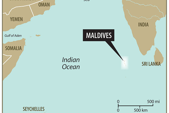 Upheaval In The Maldives Things You Should Know Where Are The - Maldives map india